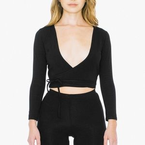 American apparel Cotton spandex Juilliard top
